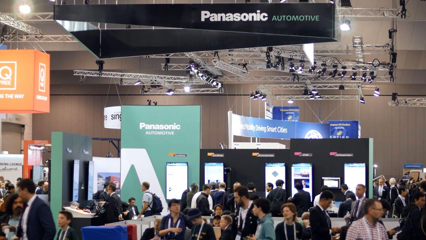 Exhibition Booth Images : Panasonic showcasing themes and has published