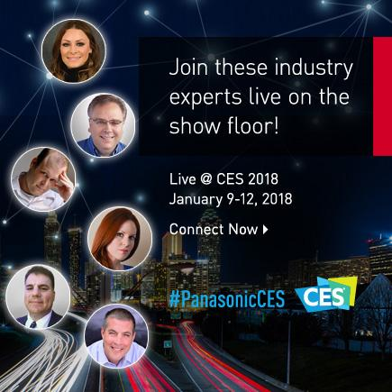 Banner of Live@CES 2018