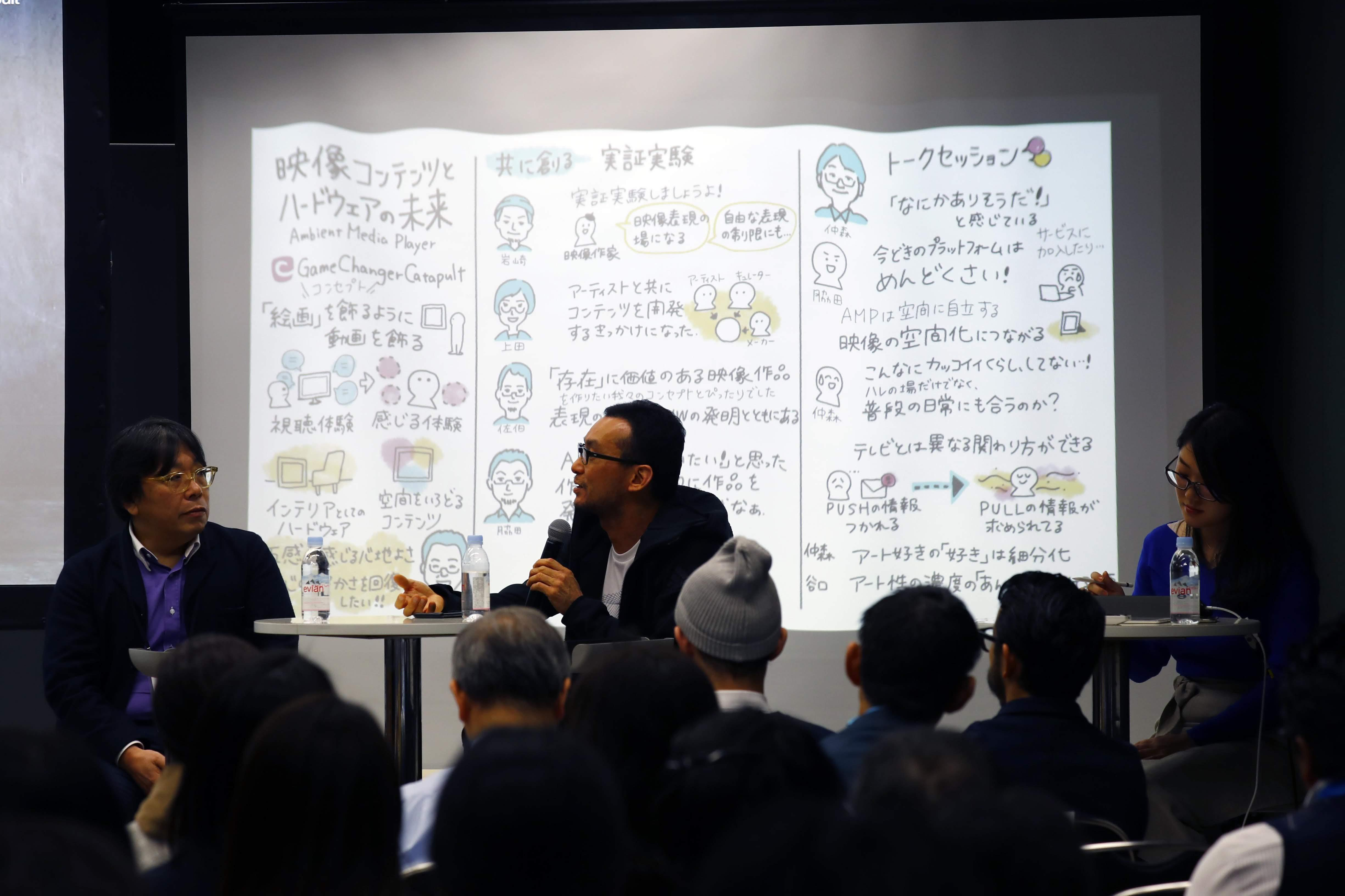 Seminar: The Future of Video Content and Hardware ~ Ambient Media Player ~ / 映像コンテンツとハードウェアの未来