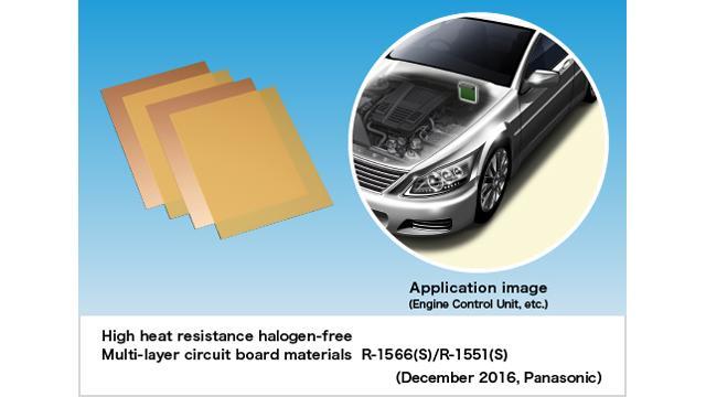 Panasonic Commercializes High Heat Resistance Halogen-free