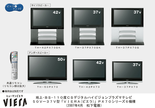 panasonic launches new 1080p full hd series of plasma tvs including first 42 inch model. Black Bedroom Furniture Sets. Home Design Ideas