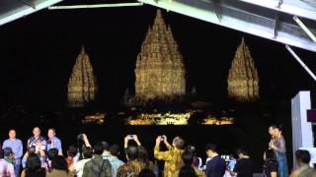 Panasonic at Prambanan Temple, a UNESCO World Heritage Site