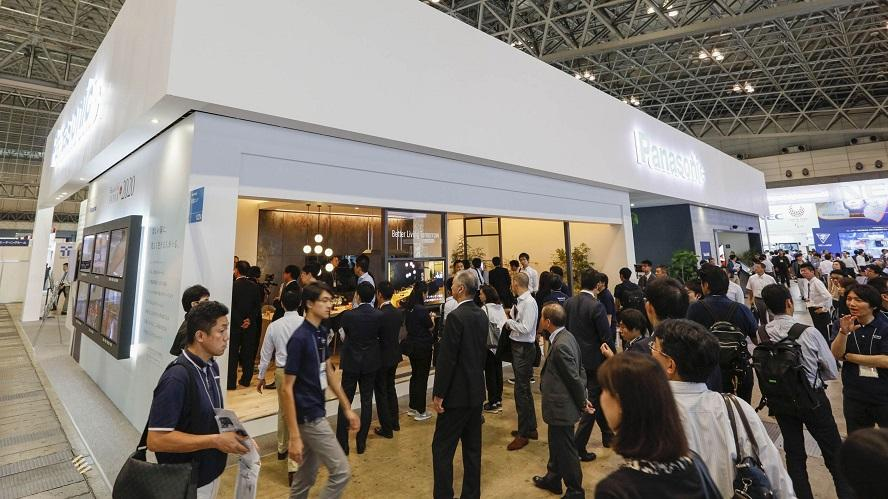CEATEC2016 Panasonic Booth Image