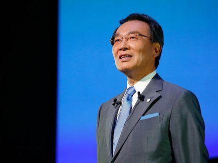 Panasonic President CEO Kazuhiro Tsuga