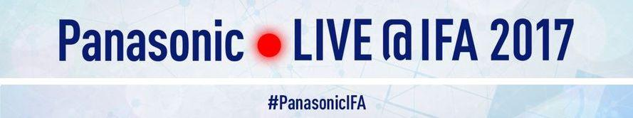 Banner of Panasonic LIVE@IFA 2017