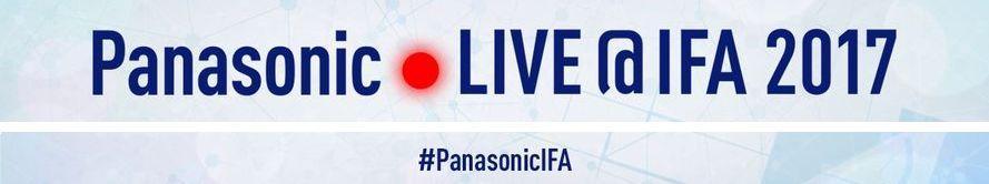 Banner of Panasonic LIVE@IFA 2017