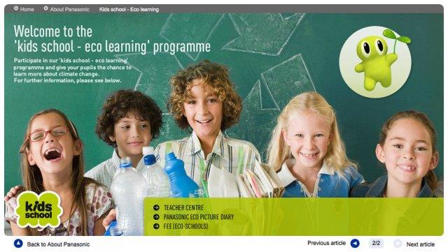 Panasonic Kids School Eco Learning Program | Feature Story