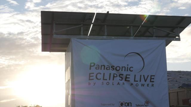 Panasonic Successfully Broadcast the Total Solar Eclipse Live from Ternate, Indonesia