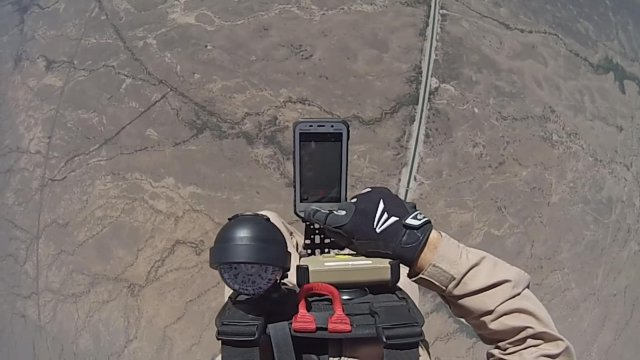 Rugged Toughpad Tablets Help Guide Parachutists to Safety