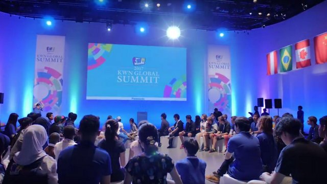 "The First KWN Global Summit Held with the Mission ""Create Our Future Together"""