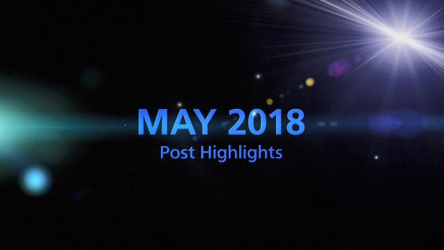MAY 2018 TOP 5 Engagement