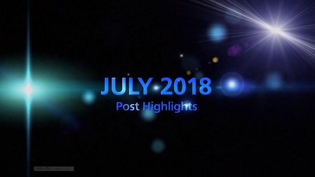JULY 2018 TOP 5 Engagement