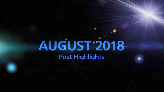 AUGUST 2018 TOP 5 Engagement