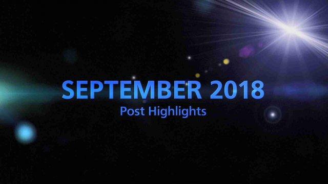 SEPTEMBER 2018 TOP 5 Engagement