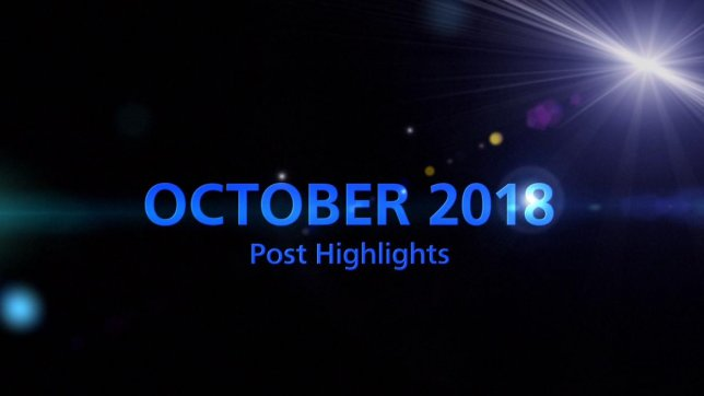 OCTOBER 2018 TOP 5 Engagement