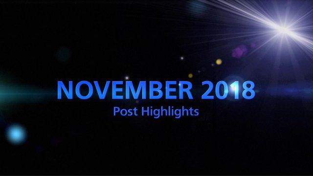 NOVEMBER 2018 TOP 5 Engagement
