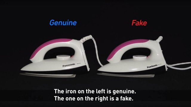 The Fight Against Fake Products - Actions by Panasonic -