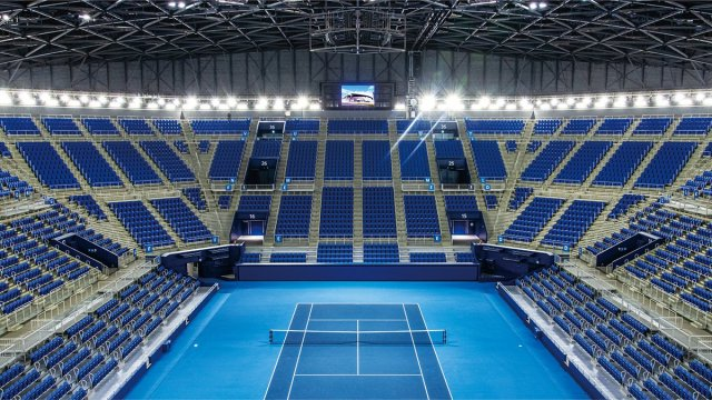 RAMSA Stadium Audio System, Large Screen Display System, and Camera System Installed at the Ariake Tennis Park