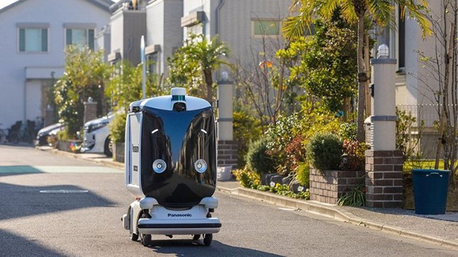 Autonomous Robots Deliver Medication Door-to-Door in a Highly Resilient Town of the Future