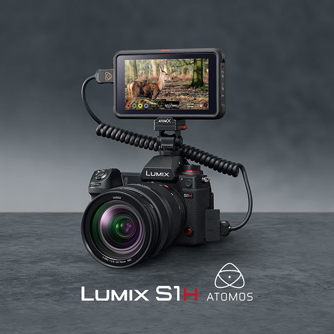 Panasonic releases firmware update for LUMIX S1H: RAW Video Data Output over HDMI