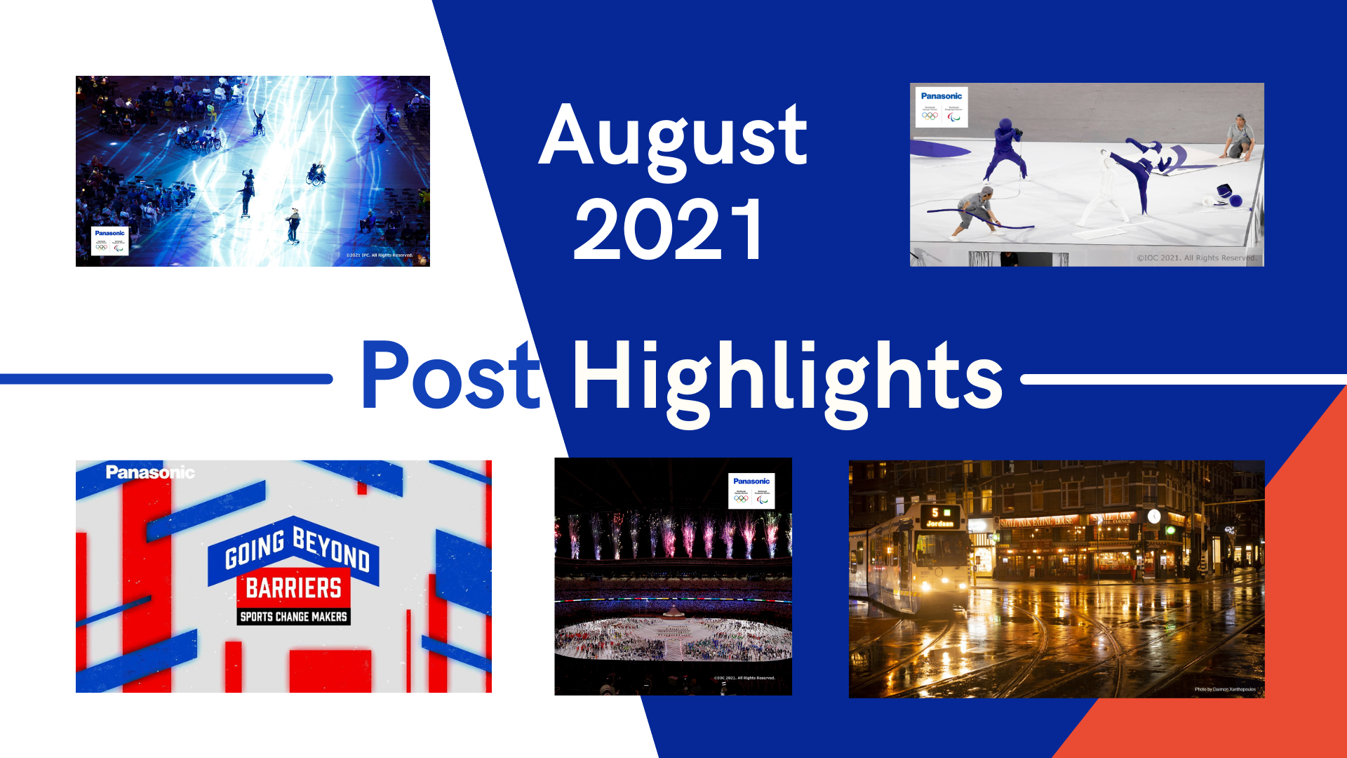 August 2021 TOP 5 Engagement
