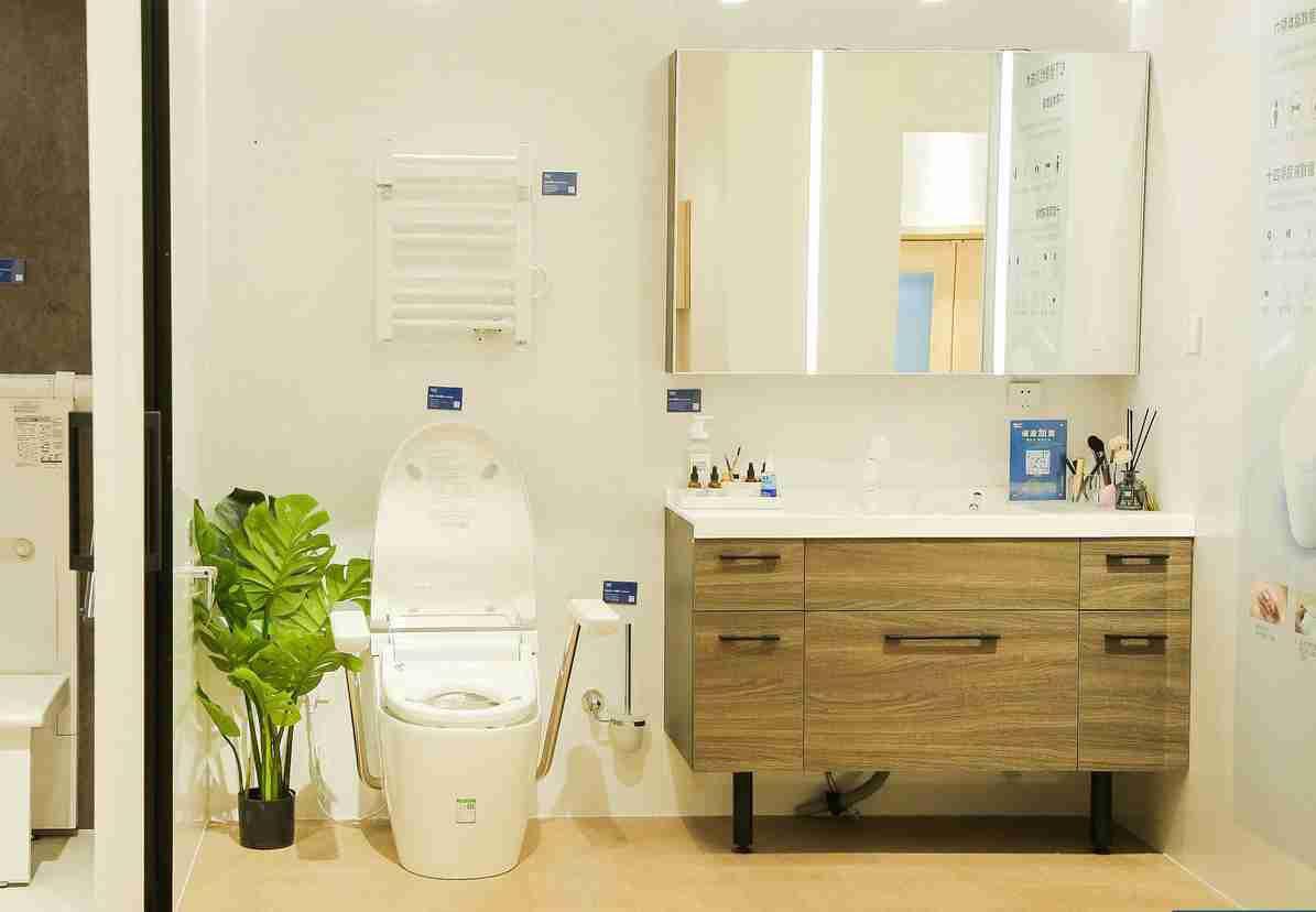 Photo: Panasonic's IoT toilet