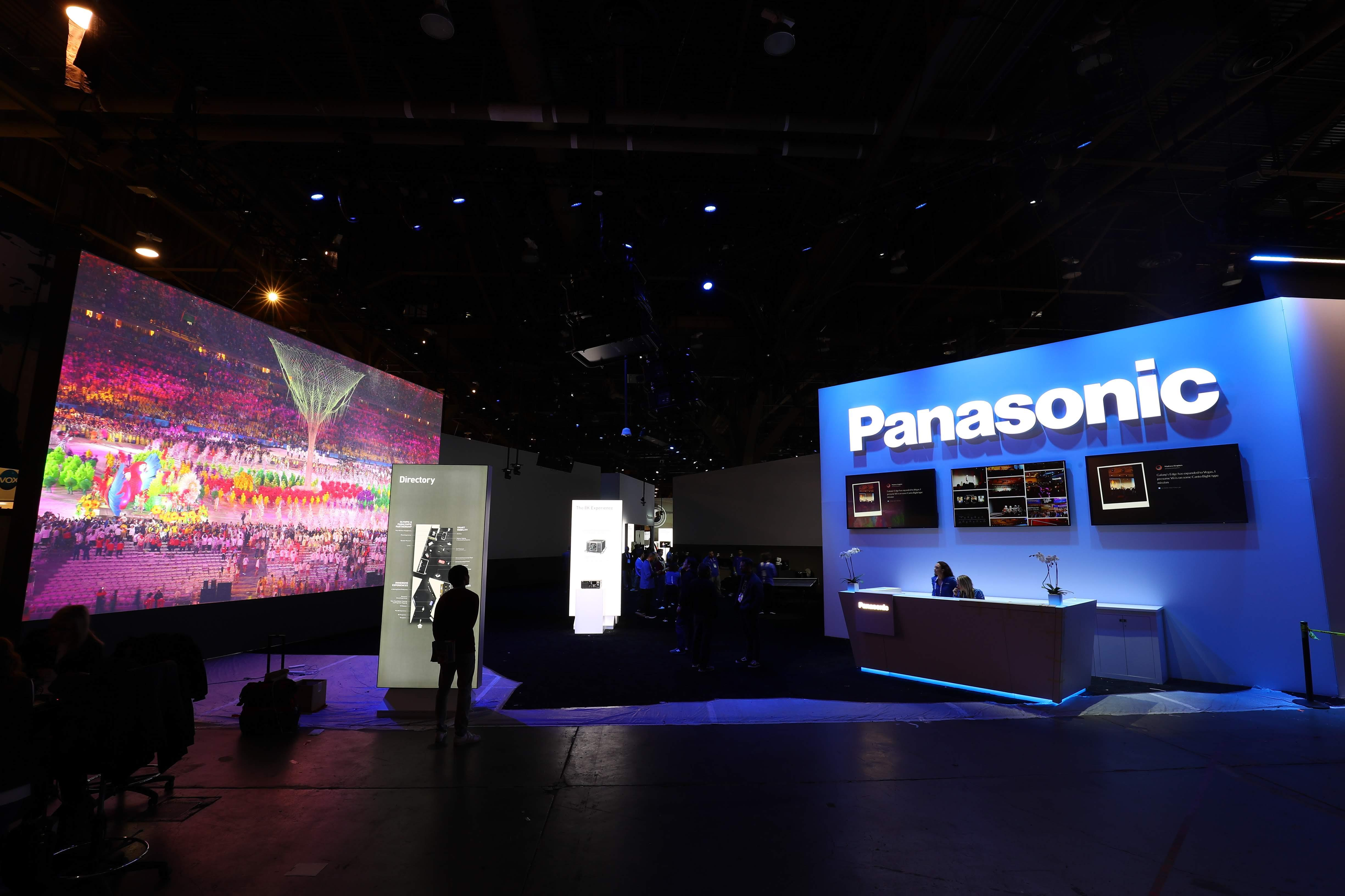 Photo: Panasonic booth at CES 2020
