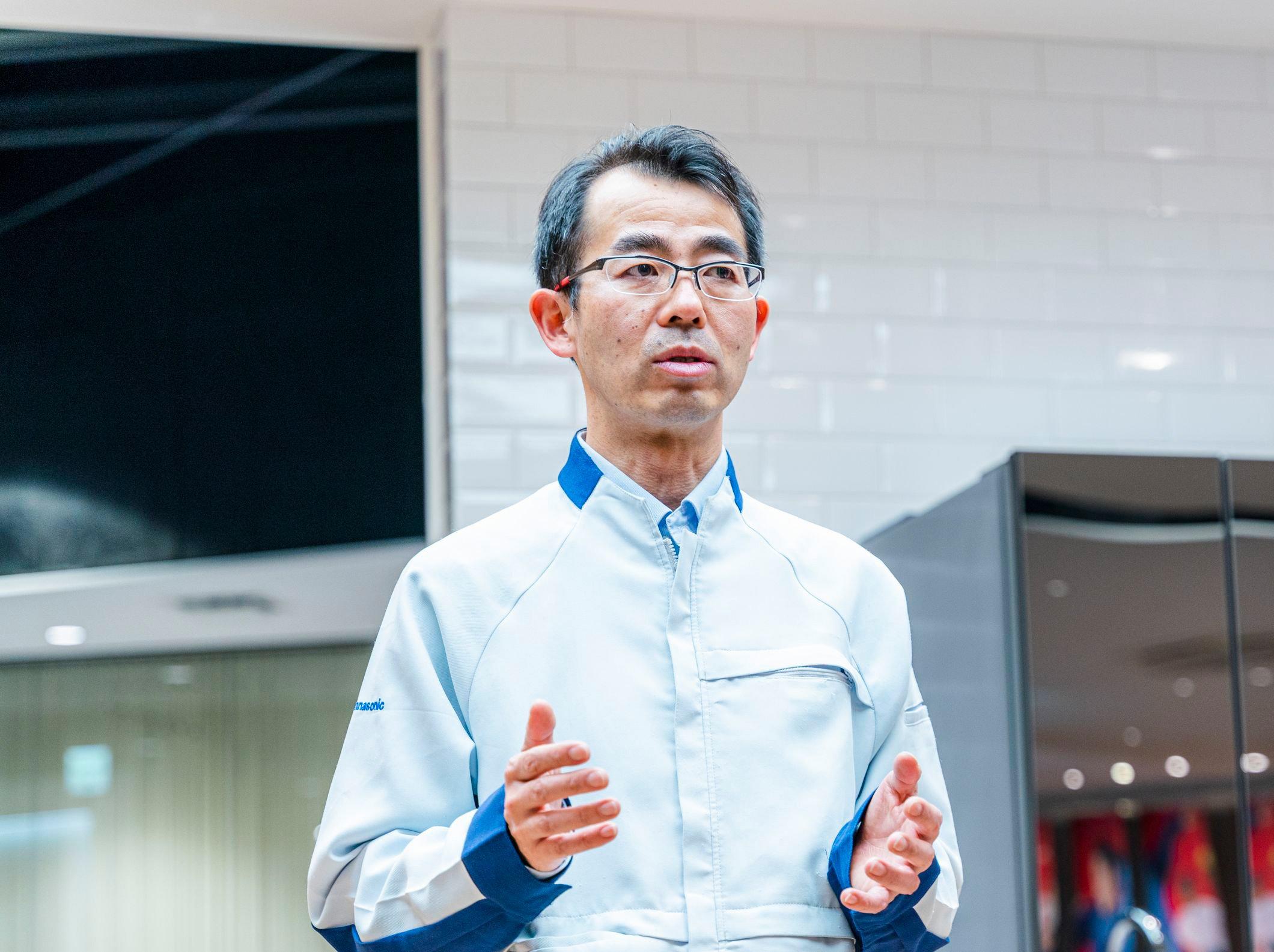 Photo: Shinya Kojima, Manager, Business Development Center