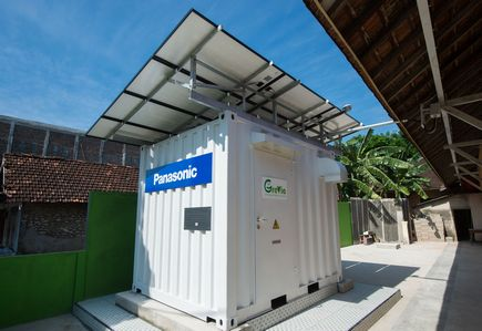 Power Supply Container