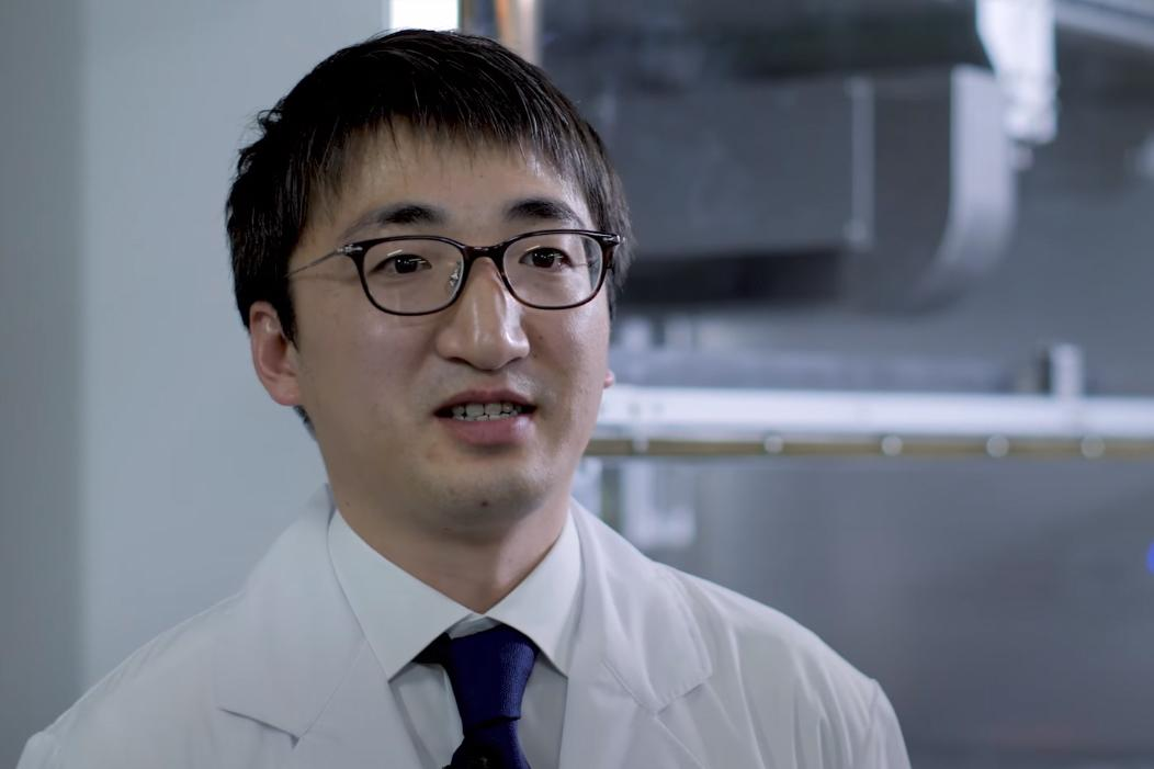 photo: Dr. Shuhei Kanagaya of the Kyoto University, Institute for Frontier Medical Science