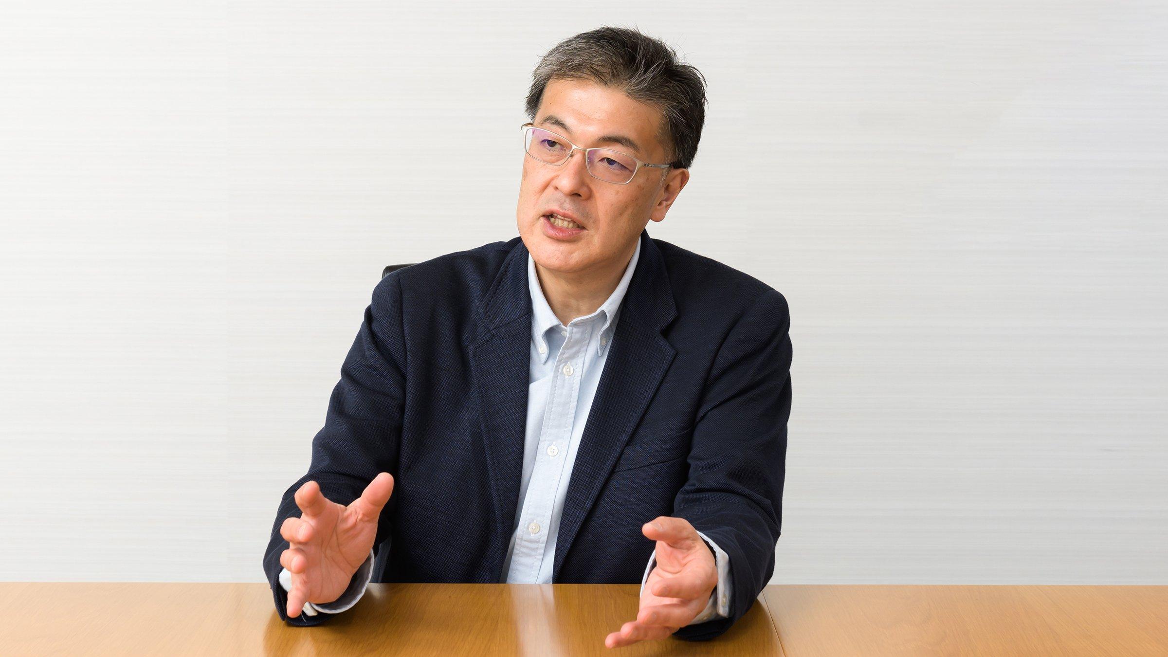 Photo: Yuki Kusumi, CEO of Panasonic Corporation