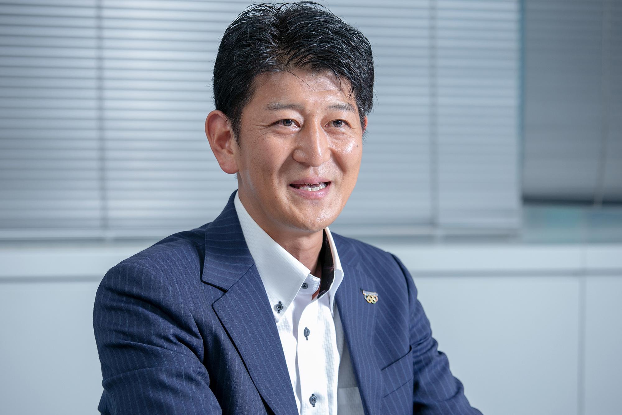 Photo: Kengo Fukuma, Chief, Solution Team No. 2, Sales & Marketing Dept., Business Solutions Division, Panasonic Corporation