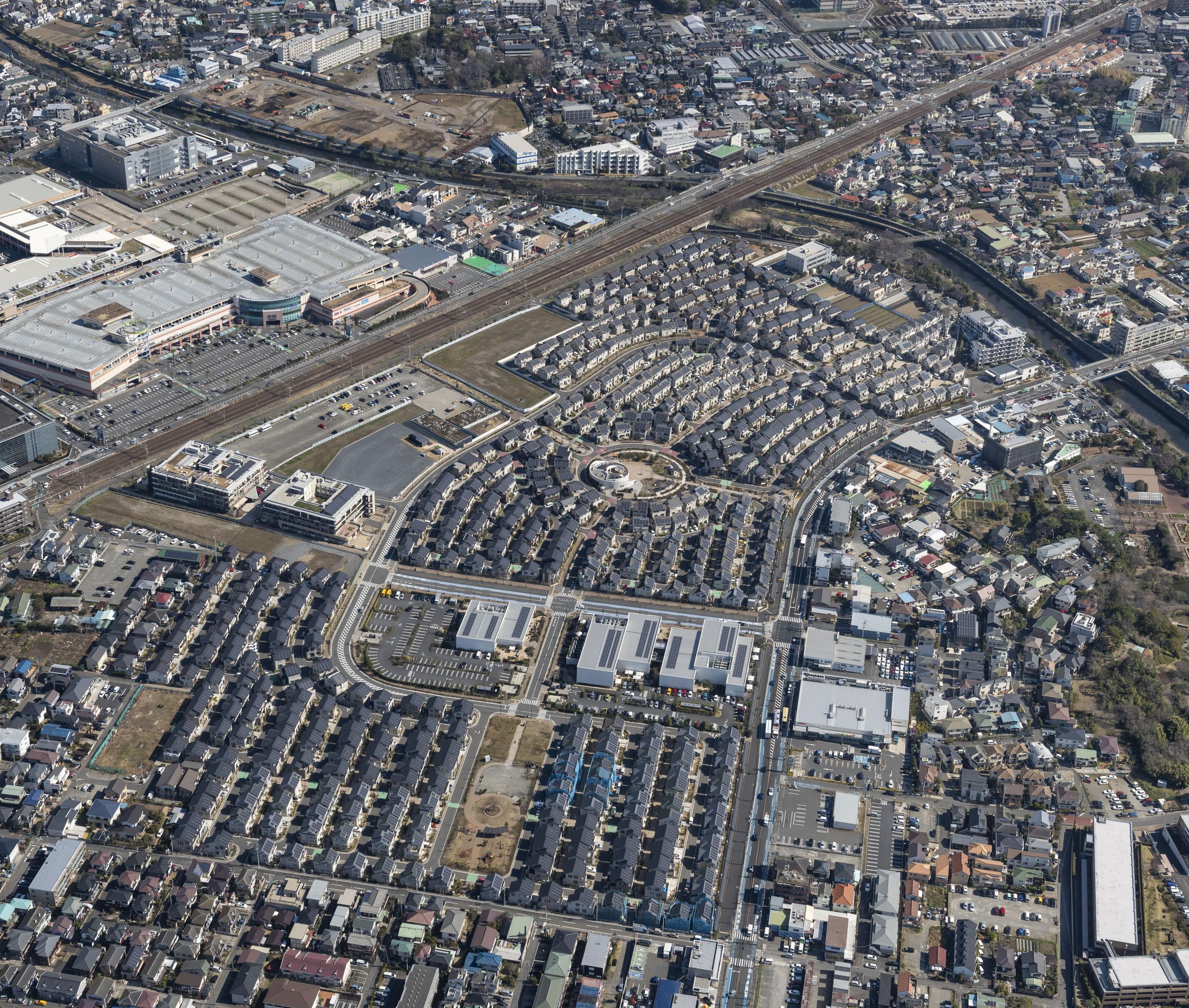 Photo: Aerial view of the FFST