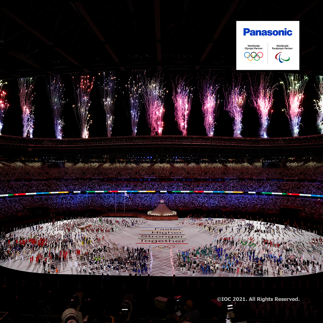 How Panasonic Helped Create a Memorable Opening Ceremony of the Olympic Games Tokyo 2020 With Its Next-Gen Projectors