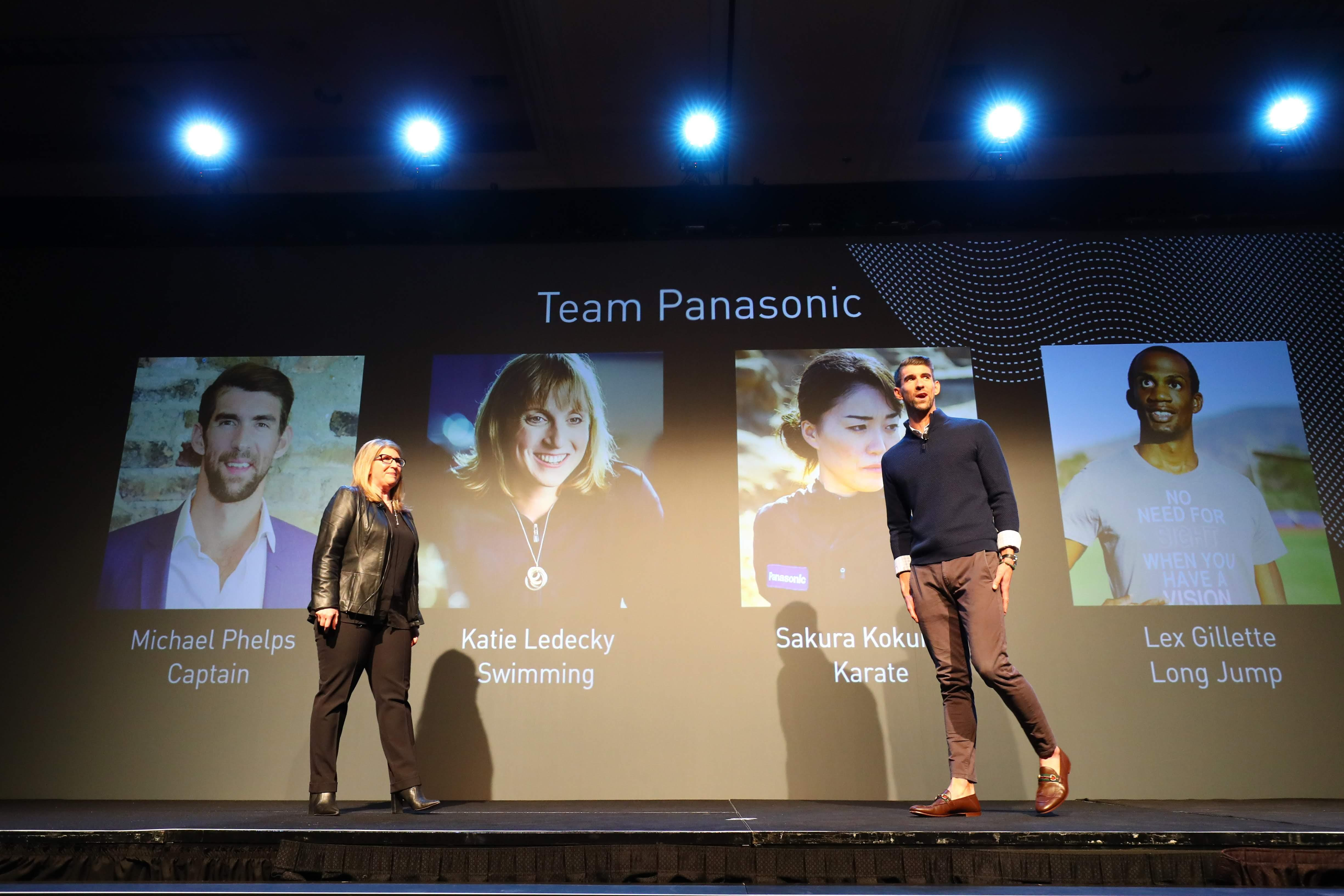 Photo: Panasonic press conference at CES 2020