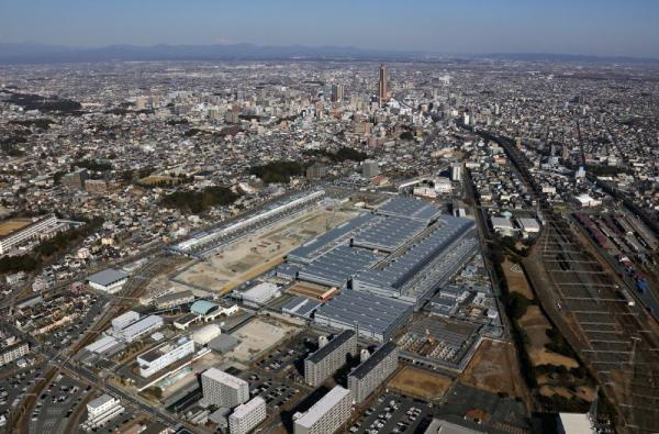 photo: JR Tokai's renovated plant in Hamamatsu (Photo courtesy of JR Tokai)