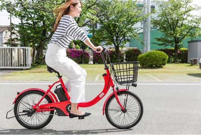 photo: electric assist bicycles provided by Docomo Bike Share