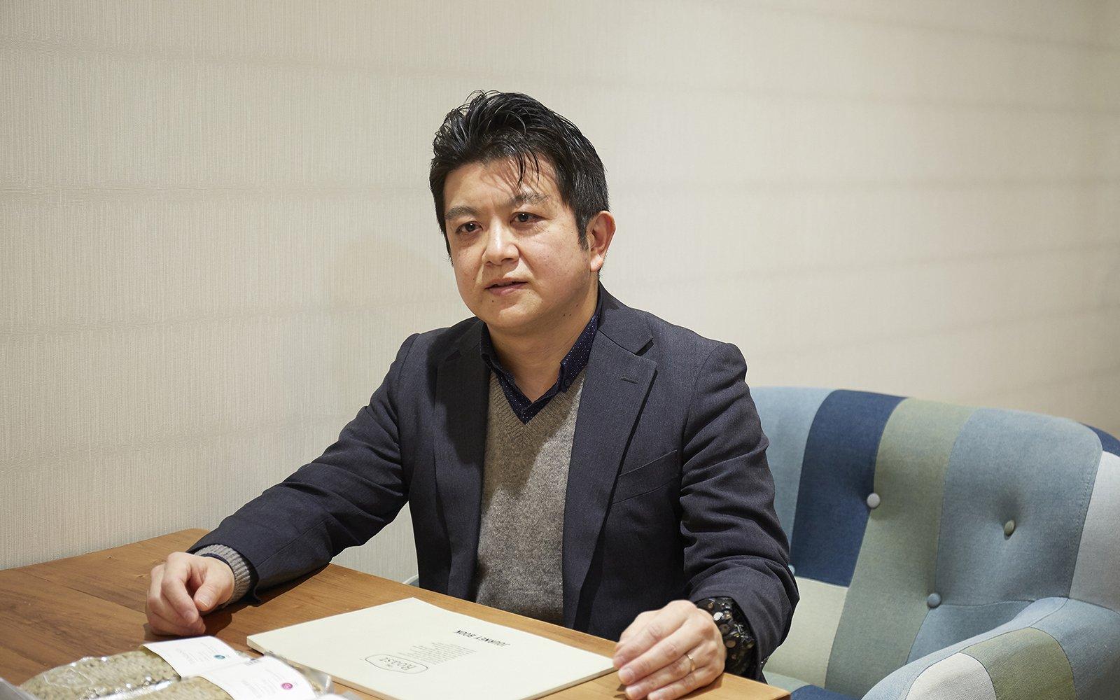Photo: Tatsuya Ii, Leader, The Roast Project, Business Development Center, Appliances Company, Panasonic Corporation