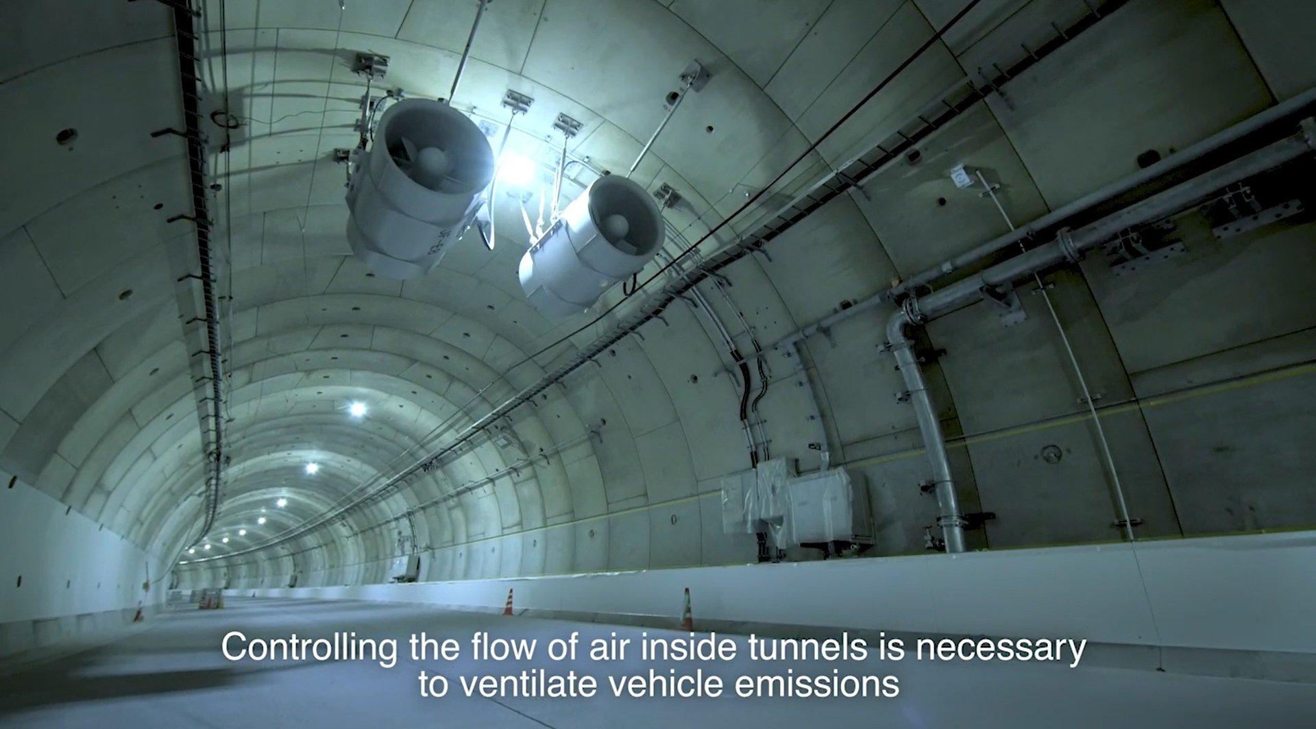 Panasonic's Tunnel Ventilation Solutions
