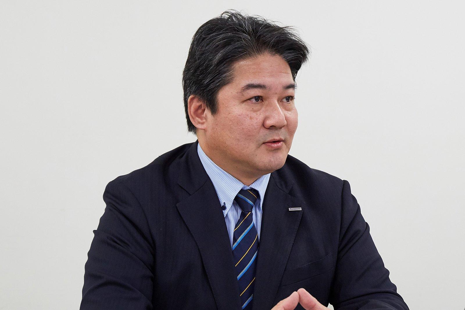 Toshiaki Iwata, Group Leader Road Environment EU Sales Group, Environmental Solutions Business Group, Panasonic Environmental Systems & Engineering Co., Ltd.