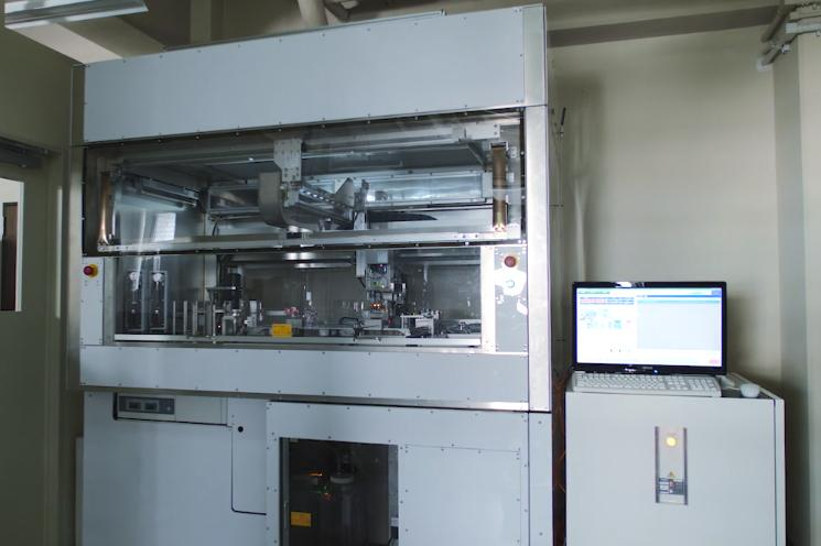 photo: The automated cell culture system for iPS cells by Kyoto University and Panasonic