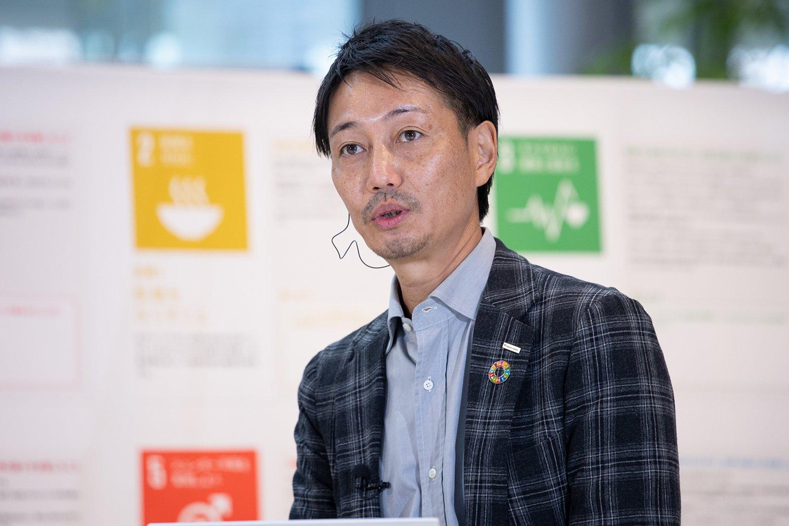 Photo: Alex Ikenouchi, Director, Panasonic Center Tokyo, Groupwide Brand Strategy Division, Panasonic Corporation