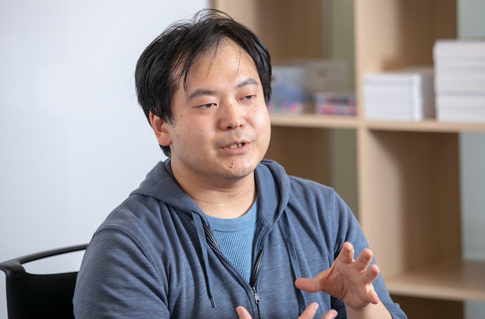 Photo: Toshiyuki Shiwa, Chief Engineer, QUANTUM Inc.