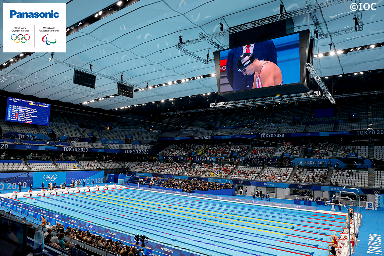 Photo: Next-Generation Viewing Experience to the Tokyo 2020 Games' Aquatic Events