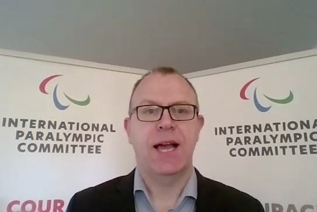 Photo: Craig Spence, Chief Brand and Communications Officer at International Paralympic Committee (IPC) and project collaborator