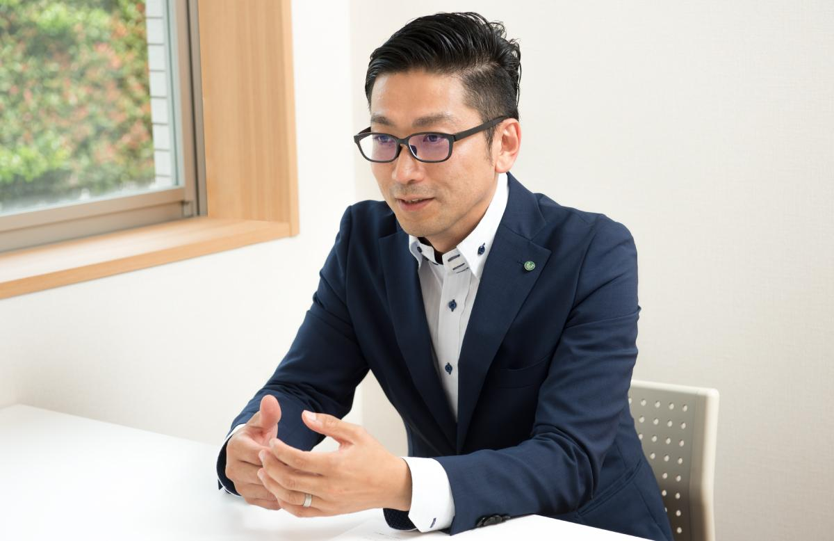 photo: Wato Soyama, Manager, New Buisiness Development Division, Corporate Strategy Head Office, TSUKUI CORPORATION