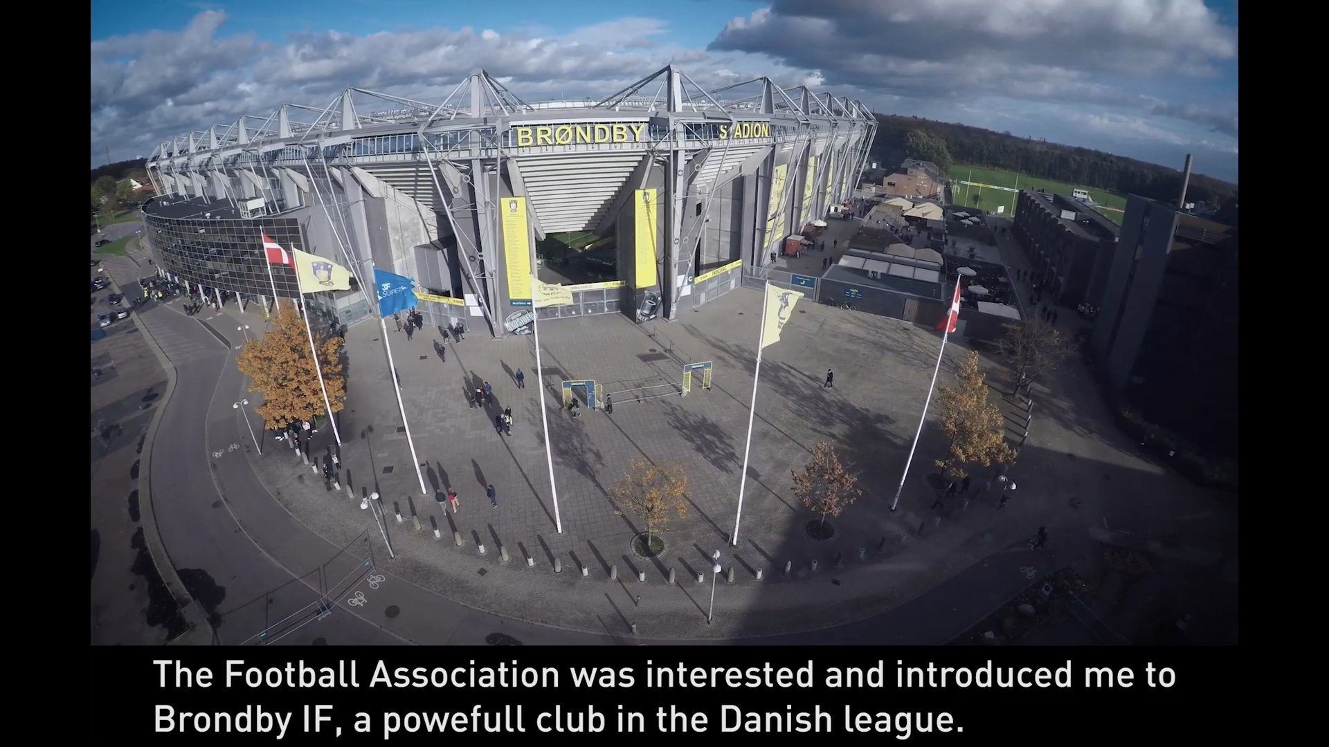 Panasonic's facial recognition solution at the football stadium