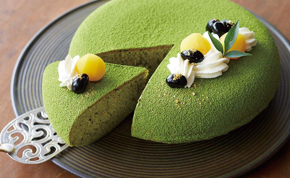 Photo: matcha cake