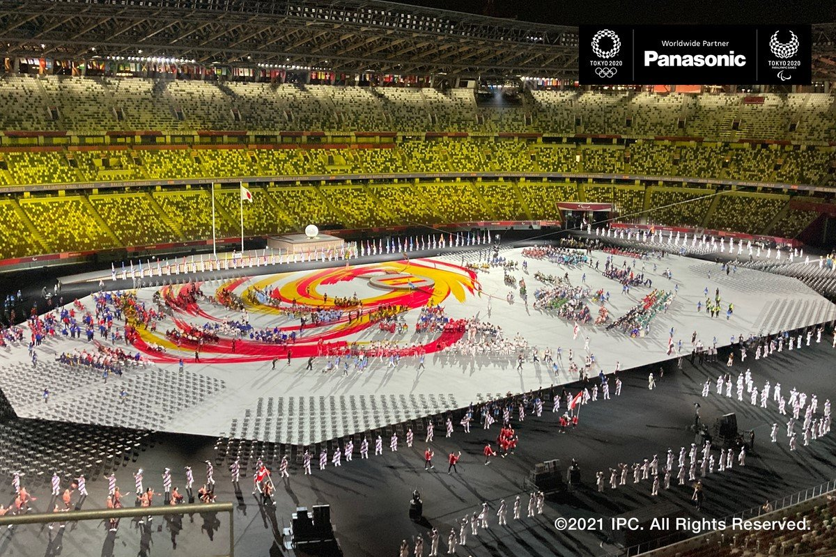 Photo: Opening ceremony of the Tokyo 2020 Paralympic Games