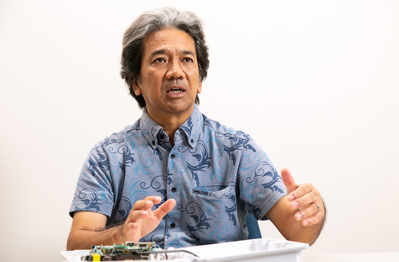 Photo: Naoto Higa, President, Nextems Co., Ltd.